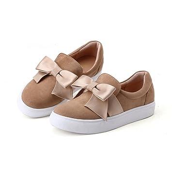 LIANGJUN Tacones Bajos Plano Zapatos De Mujer Zapatillas Al Aire Libre  Primavera b63b7cf5aa6d
