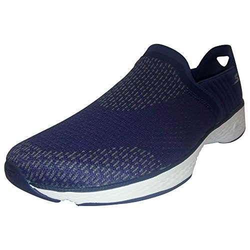 Skechers Go Walk Sport Supreme Slip On Zapatillas de paseo para mujer negro/blanco