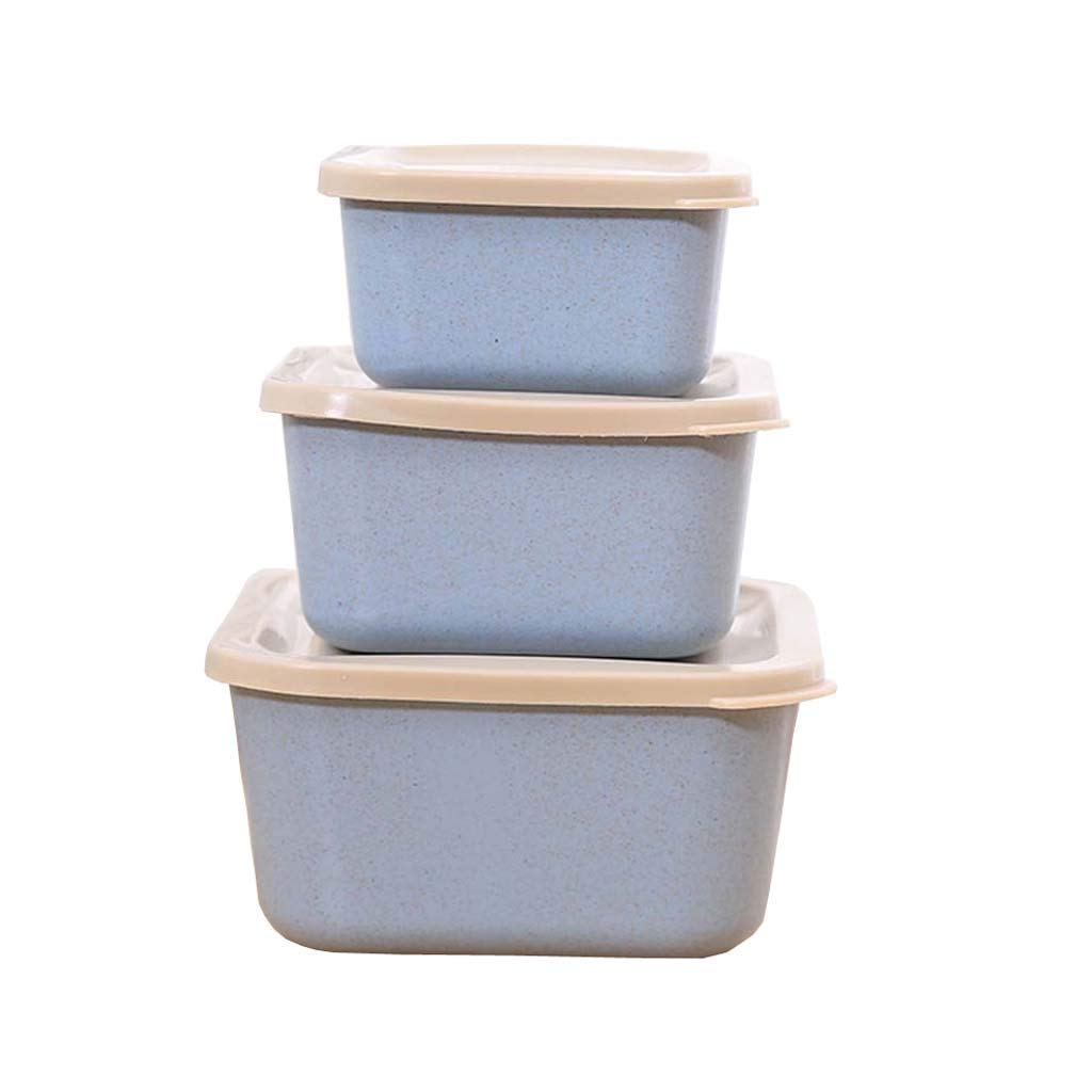Microwave Lunch Box Picnic Food Fruit Container Storage Box For Kids Adult
