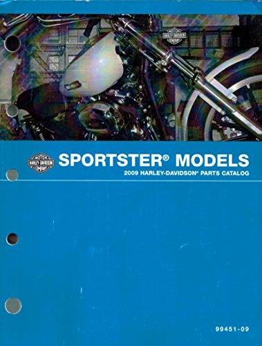 2009 Harley-Davidson Sportster Models Parts Catalog, Harley Part Number ()
