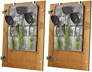 Jokari Cabinet Door Gadget Pockets (2 Pack)