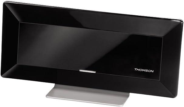 Thomson 131906 - Antena de TV (Interno, Impedancia 75 Ohmios), negro