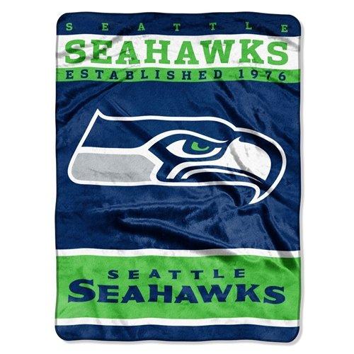 Seattle Seahawks 60x80 Raschel Blanket product image
