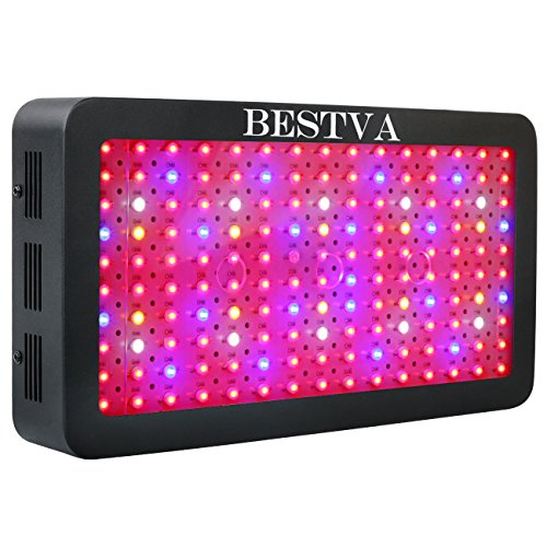 BESTVA 1500W LED Grow Light Full Spectrum Grow Lamp with IR&UV for Greenhouse Hydroponic Indoor Plants Veg and Flower