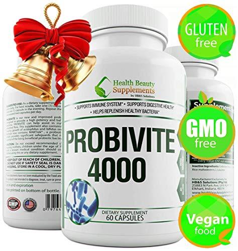 * 40 Billion Long Life * PROBIOTICS with MAKTREK_ Probiotics 40 Billion cfu,Probiotics for Women,Probiotics for Men.Shelf Stable Unlike Most 50 Billion CFU,100 Billion CFU,Aids Weight Loss