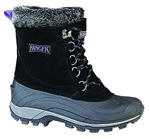 "Amazon.com: Ranger Champney 9"" Women's Suede Winter Boots"