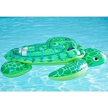 Tortuga Flotante Cama Flotante Inflable Tumbonas Flotantes Piscina Al Aire Libre Esencial Adecuado Para El Patio