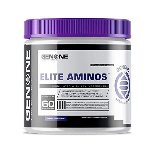 Benefits Branch Chain Amino Acids - GenOne Nutrition- Oxy Lean Elite Aminos- Muscle Recovery, Enhanced Endurance, Energy Booster, Branch Chain Amino Acids Formula, Essential Amino Acids, Recovery Fuel, 30 Servings (Watermelon)