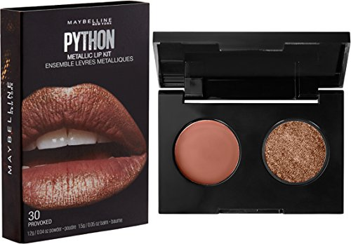 Maybelline New York Lip Studio Python Metallic Lip Makeup Kit, Provoked, 0.09 oz.