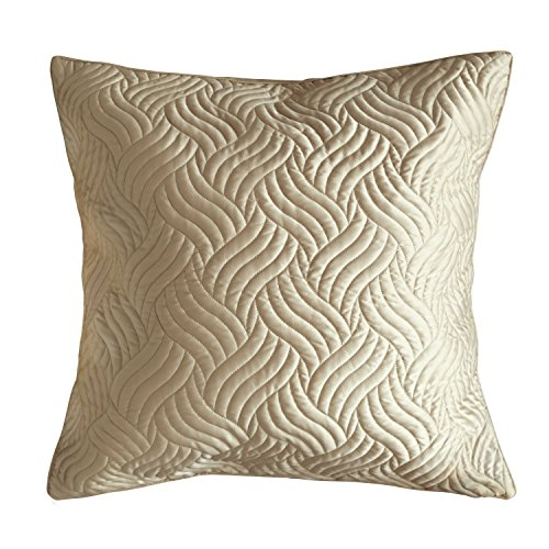 Adream Faux Silk/Cotton Printed Euro Shams European Throw Pillow Cover Decorative Pillowcase European Pillowcase, 26