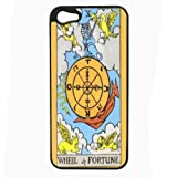 Wheel Of Fortune Tarot iPhone 5 Hard Case Back Cover D-125
