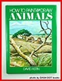 How to Paint and Draw Animals, Outlet Book Company Staff, 0517344300