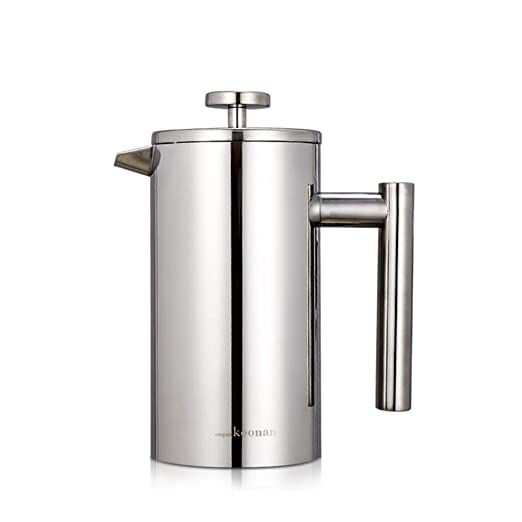 PMTX-kettle Prensa Francesa de Acero Inoxidable, Filtro Grande de ...