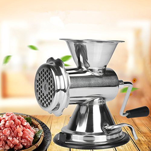 Cyana  Manual household stainless steel meat grinder grin...