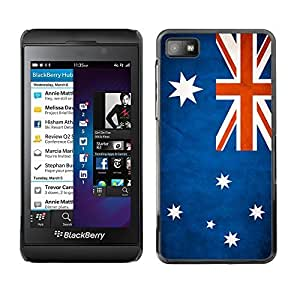 YOYO Slim PC / Aluminium Case Cover Armor Shell Portection //Australia Grunge Flag //Blackberry Z10
