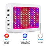 Giixer 1000W LED Grow Light, Dual Switch & Dual