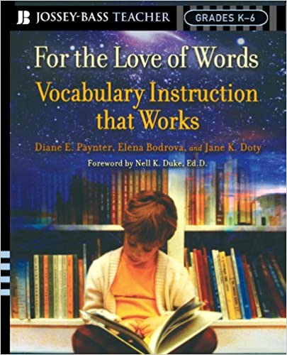 Amazon For The Love Of Words Vocabulary Instruction That Works