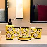 GTVERNH-Recipients Of Gifts Bathroom Vanity Set Ceramic Bathroom Vanity 5-Piece Set The Art Hotel Bath Kit Bathroom Vanity Set