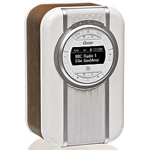 VQ Christie - Radio digital DAB & DAB+, color marrón