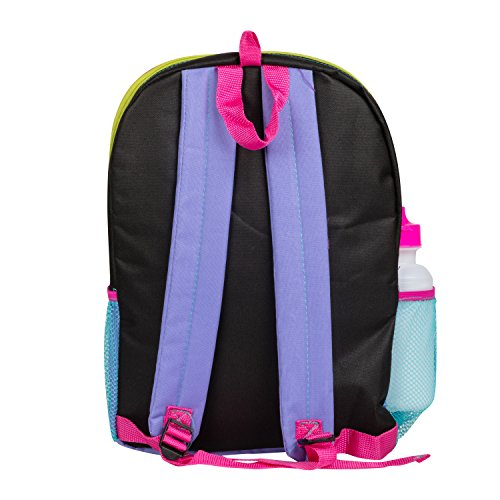 Emoji Yellow16 inch Backpack Back to School Essentials Set for Girls by FAB Starpoint (Image #7)