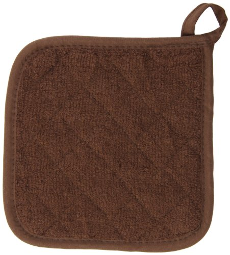 - San Jamar 802TPH Heavy Duty Terry Cloth Pot Holder, 8