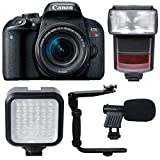 Canon EOS Rebel T7i 24.2MP Digtal SLR Camera with 18-55mm IS STM Lens , TTL Speedlite Flash and Ultimate Accessory Kit Review