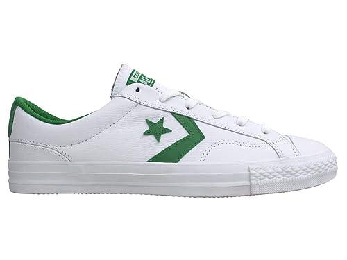 zapatillas converse hombre verde