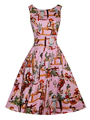 LUOUSE-Retro-West-Girl-Vintage-1950s-Sleeveless-Cocktail-Party-Swing-Dresses