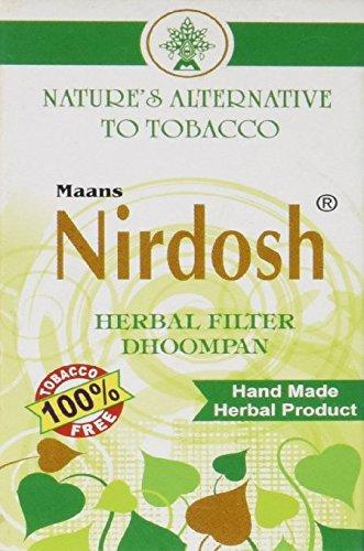 Nirdosh Tobacco & Nicotine FREE Herbal Cigarettes - Pack of 2