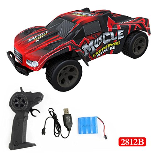 Kanzd 1:20 2WD High Speed RC Racing Car 4WD Remote Control Truck Off-Road Buggy Toys (Blaze Monster Truck Costume)