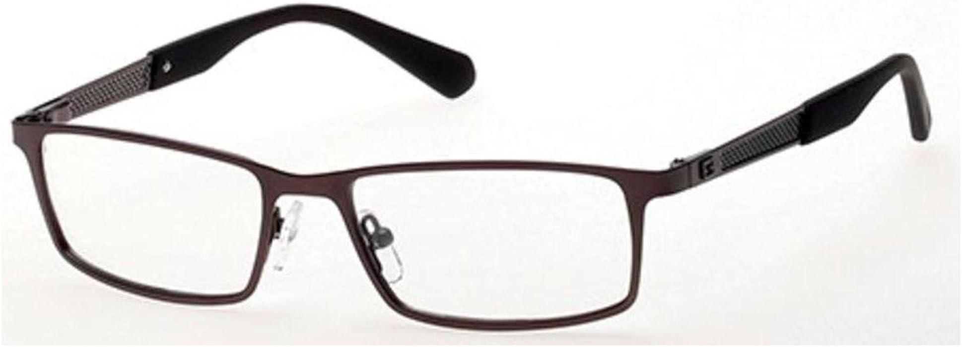 Guess Men\'s Eyeglasses GU1860 GU/1860 009 Gunmetal Full Rim Optical ...