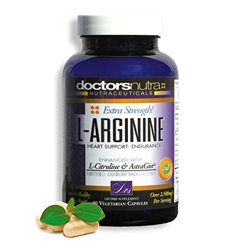 Time Released Vegetarian 250 Tabs (L-Arginine L-Citruline Extra Strength - Over 2,500 mg's - Nitric Oxide Booster - Plus Patented AstraGin for even Higher Absorption and Greater Value - By Doctors Nutra)