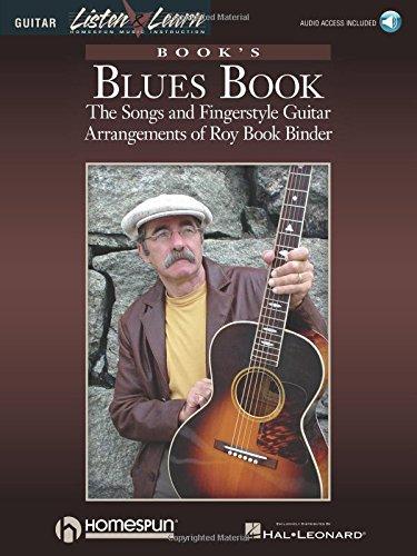 Book's Blues Book: The Songs & Fingerstyle Guitar Arrangements of Roy Book Binder Bk/Online Audio