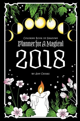 Coloring Book of Shadows: Planner for a Magical 2018 cover