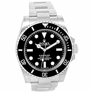 Rolex Submariner automatic-self-wind mens Watch 114060 (Certified Pre-owned)