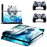 Final Fantasy VII Decal Skin Sticker for Playstation 4 PS4 Console+Controllers