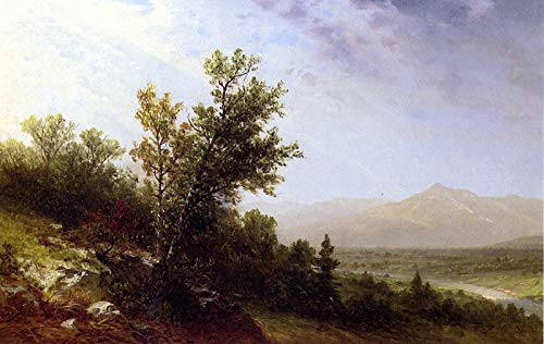 Mount Collection Canvas (John W. Casilear Mount Chocorua 1867 Private Collection 30