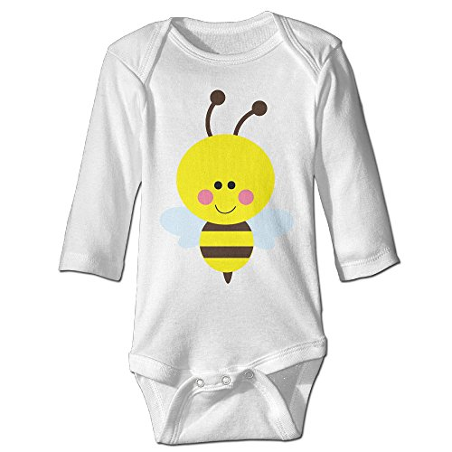 Neutral Bodysuits Cute Bumble Bee Long Sleeve (Bumblebee Suit)