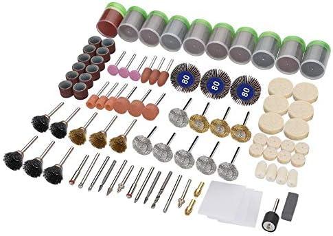 350ピースの回転工具アクセサリ、研磨工具、フィットほとんどの回転工具は、研磨、研磨、クリーニング、Scheibenfrä senドリルディスクに使用できます