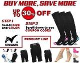 NEWMARK Compression Socks for Men & Women, Best