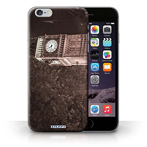 Hülle Case für iPhone 6+/Plus 5.5 / Big Ben Sépia Entwurf / London England Collection