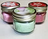 Bundle of Old Williamsburg Mini Mason Jar Candle sets, decorative, scented