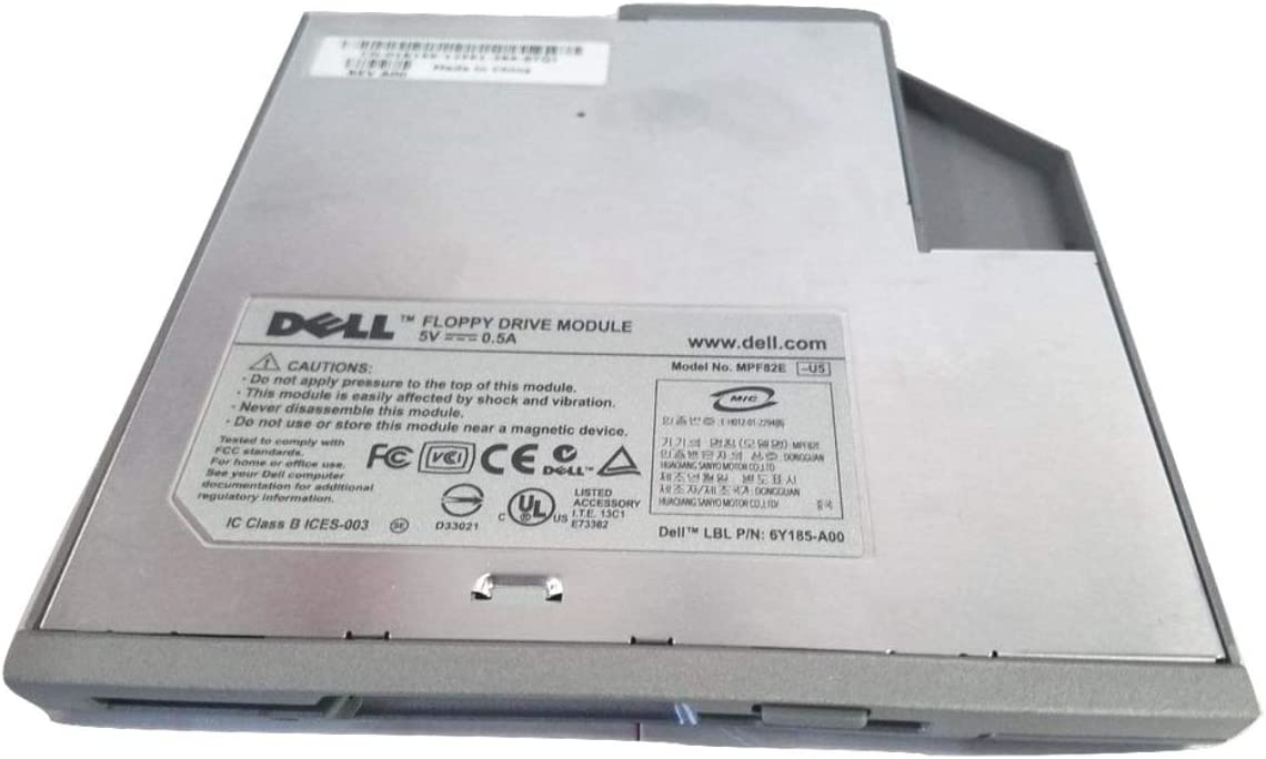 DELL Floppy Drive Module Latitude D Series Inspiron Laptops External with USB