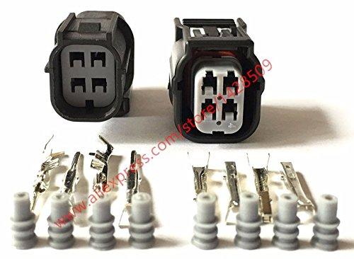 Hvg Series - Gimax 5 Sets Gimax HV/HVG Series 040 O2 Sensor Automotive Connector 4 Pin Female Male Waterproof Socket Plug 6189-7039 6188-4776