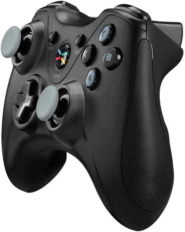 YAzNdom Gamepad Juego De Bluetooth Wireless Gamepad Controlador For Laser TV Smart TV Apto para Juegos (Color : Black, Size : 15.3x10.6x6.2cm): Amazon.es: Hogar