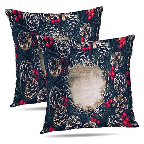 (Soopat Decorative Throw Pillow Cover Square Cushion 16