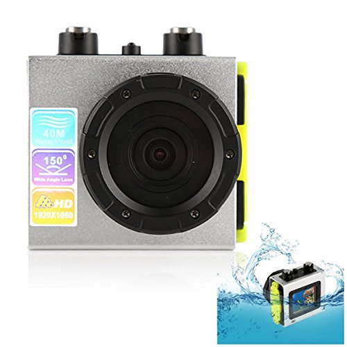 Emperor of Gadgets Waterproof HD Action Camera / 1080P Sports Camera with 140 Degree Wide Angle Lens by Emperor of Gadgets