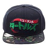 ninja snapback - Teenage Mutant Ninja Turtles Manga Sublimated Bill Snapback Baseball Hat