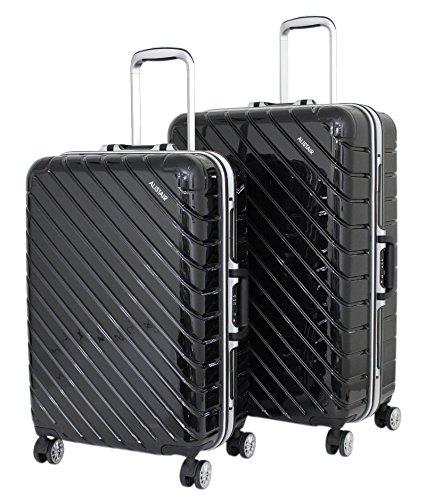 """Juego de 2 maletas medianas y grandes """"infinito"""" Alistair – ABS ultra ligero – 4 ruedas"""