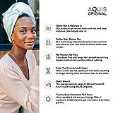 AQUIS - Original Hair Turbans, Set of 2, Perfect
